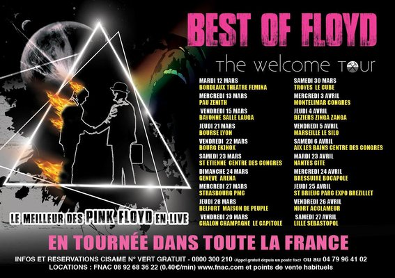 Best of Floyd Dates tournée France